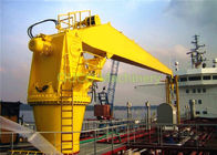 Offshore Straight Boom Crane 5T 13.5M Excellent Positioning Performance