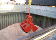 6-15 m3 Wireless Radio Remote Control Clamshell Grab Bucket Suitable For All Cranes