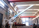 7.5KW 18Mpa Hydraulic Straight Boom Crane For Lifting Yacht