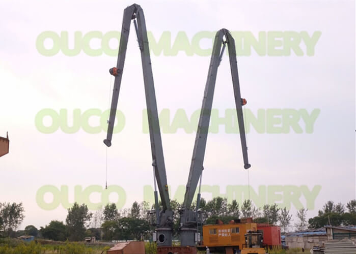 High Flexibility Offshore Knuckle Boom Crane Durable Low Power Consumption