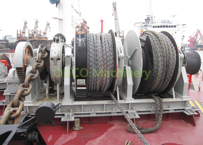 Customizable Marine Deck Winches Good Performance Reliable Operation